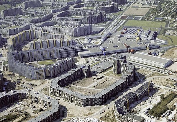 Wohnort der Zukunft 1969: Steilshoop sollte als Demonstrativbaumaßnahme zum Vorzeigeprojekt für modernes Wohnen werden (2).