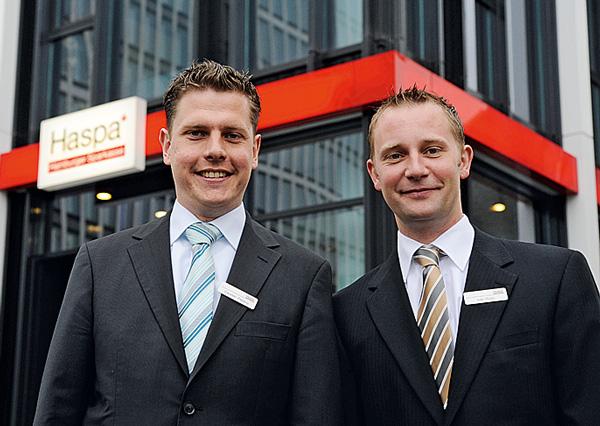 Kompetente Ansprechpartner für alles rund ums Geld: Carsten Patjens und Ivan Pucic