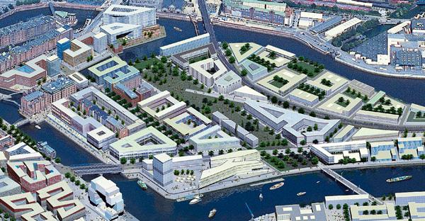 Der Masterplan für die HafenCity wurde eigens abgeändert, um auf der östlichen Seite des Lohseparks entlang der Gleisverläufe und des Bahnsteigs 2 einen Gedenkort zu errichten.