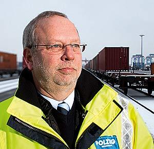 """Walter Schulze-Freyberg Geschäftsführer Polzug-Intermodal: """"Die HHLA wollte nach Osten, die polnische Staatsbahn (PKP) wollte nach Westen.  Das passte einfach. Als die Bedenken der DB beiseite geräumt waren, konnte der erste Zug rollen."""""""