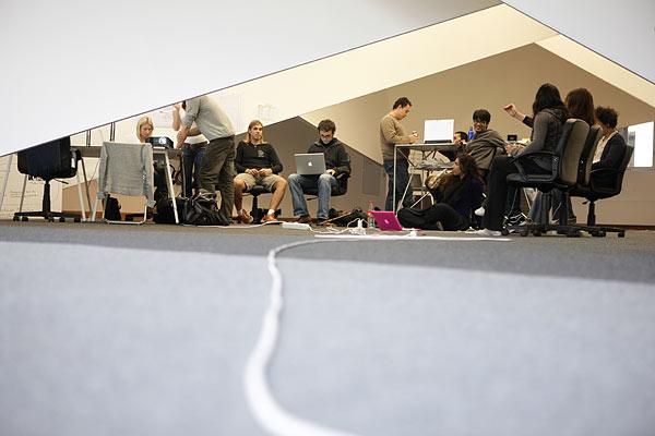 Im Camp Palomar 5 haben sich im vergangenen Jahr 28 junge Kreative aus aller Welt getroffen, um über das Arbeiten der Zukunft nachzudenken.