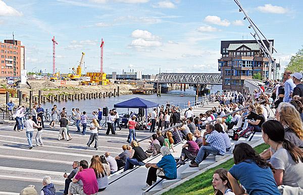 Sommer in der HafenCity