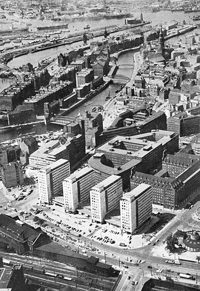 City-Höfe 1958