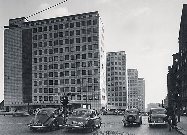 City-Höfe damals