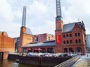 Kesselhaus an der Schwelle zur HafenCity