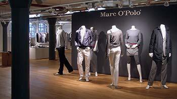 Ein Beispiel für die Showrooms in der Speicherstadt: Marc O'Polo präsentiert im historischen Ambiente von Block W eine neue Kollektion – die Einkäufer schätzen die originelle und authentische Atmosphäre des Lagerhausviertels. (3)
